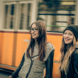 Two beautiful young women — Stock Photo #44000269