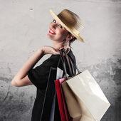 富有表现力的女商人 — 图库照片