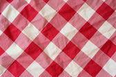 Fundo de material xadrez vermelho — Foto Stock