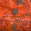 Red Rust Background — Stock Photo