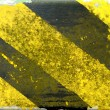 Stock Photo: Grungy Warning Markings