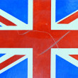 Stock Photo: Grungy British Flag