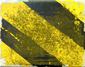 Nieczysty oznakowanie ostrzegawcze — Zdjęcie stockowe