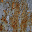 Rusty Peeling Paint Background — Stock Photo