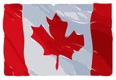 Canadian Flag Illustration — Stock Photo