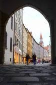 European Street — Stock Photo