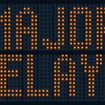 ������, ������: Major Delays Sign
