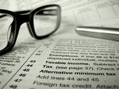 Tax Forms — Foto Stock