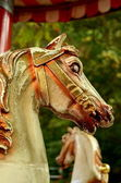 Fairground Horses — Stock Photo