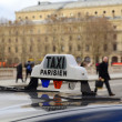 Paris Taxi - Stock Photo