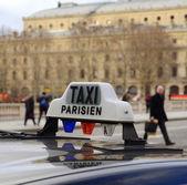 Paris Taxi — Stock Photo
