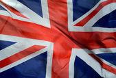 Britská vlajka — Stock fotografie