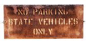 School Parking Sign — Stock Photo