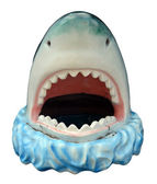 Novelty Plastic Shark — Stock Photo