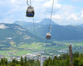 Alpine Cablecar — Stock Photo