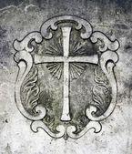 Grób krucyfiks — Zdjęcie stockowe