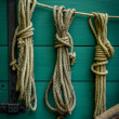 Wagon Ropes — Stock Photo