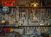 Vintage Tools Workshop — Foto de Stock