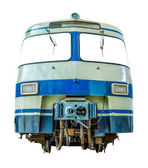 Isolated Vintage Diesel Train — Stock Photo