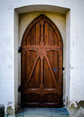 Rustic Chapel Door — Photo