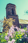 Retro Style Country Church — Stock Photo