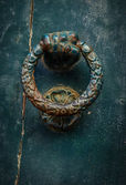 Hand Door Knocker — Stock Photo