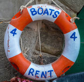 Boats For Rent — Stock Photo