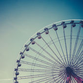 Retro Ferris Wheel — 图库照片