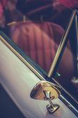 Detalhes de estilo retro vintage carro esporte — Fotografia Stock