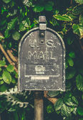Vintage Hawaiian US Mail Box — Stock Photo