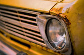 Retro Style Vintage Rusty Car — Stock Photo