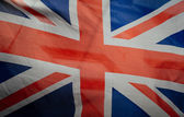 Retro Vintage British Flag — Stock Photo