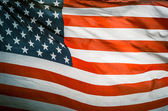 風でレトロなヴィンテージ アメリカ国旗 — ストック写真