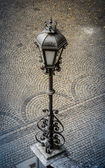 Vintage Street Lamp In Europe — Stock Photo