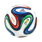 Adidas Brazuca World Cup 2014 Official Matchball — Foto Stock