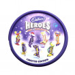 Tin of  Cadburys Heroes Assorted Chocolates on whire backgroun — Stock Photo #41371321