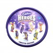������, ������: Tin of Cadburys Heroes Assorted Chocolates on a whire backgroun