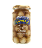 Haywards Sweet Pickled Onions Isolated On White.  — Stock Photo