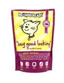 Paquetes de comida para gatos adultos meowingheads pollo completo en un ápice — Foto de Stock