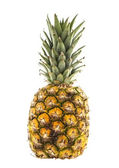 Whole Fresh Pineapple on a white background — Stock Photo