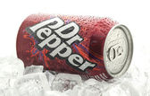 Can of Dr Pepper — Stock Photo