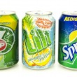 Постер, плакат: Three Soft Drink Can
