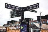 Gloucester quays — Stock Photo