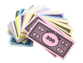 Monopoly Money — Stock Photo