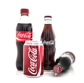 Colection of Coca-Cola dinks — Stock Photo