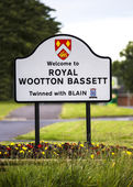 ROYAL WOOTTON BASSET — Stock Photo