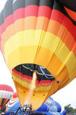 Colorful of hot air balloons — Stock Photo