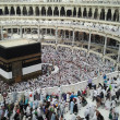 Stock Photo: All muslims arround world doing tawaf at kaabah in Masjidil Haram, Mecca
