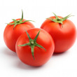 Three red tomatoes — Stock Photo #12579848
