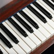 Old piano keys — Stock fotografie